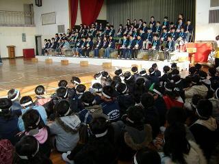 愛知県一宮市立瀬部小学校 [6年生を送る会 2007.3.12]